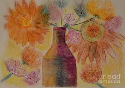 Pastel - Bottled Sunshine by Maria Urso