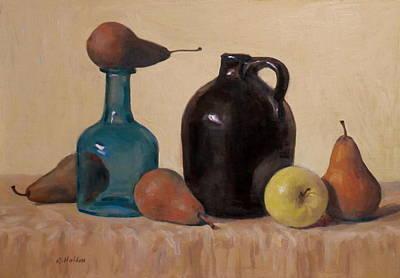 Painting - Bottleneck Below by Robert Holden