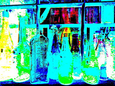 Photograph - Bottles 11 by George Ramos