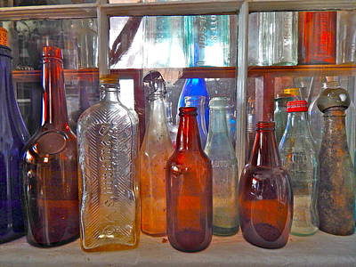 Photograph - Bottles 12 by George Ramos