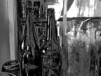 Photograph - Bottles 13 by George Ramos