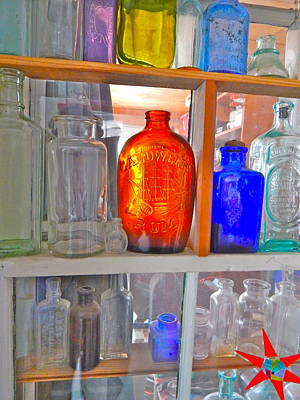 Photograph - Bottles 15 by George Ramos