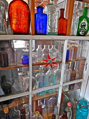 Photograph - Bottles 17 by George Ramos