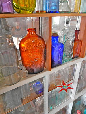 Photograph - Bottles 18 by George Ramos