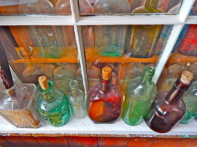 Photograph - Bottles 19 by George Ramos