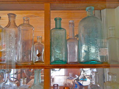 Photograph - Bottles 21 by George Ramos