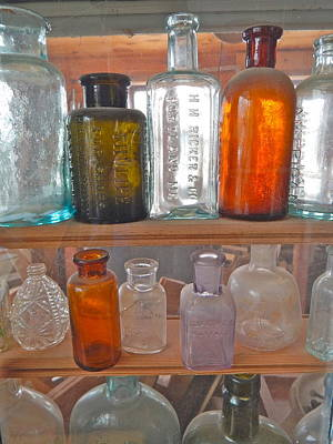 Photograph - Bottles 23 by George Ramos