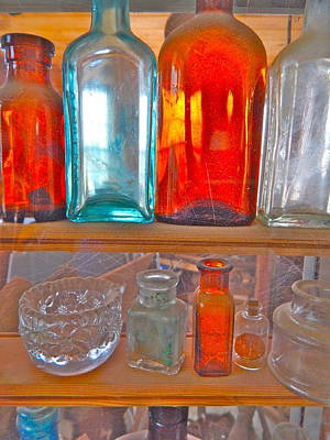 Photograph - Bottles 24 by George Ramos