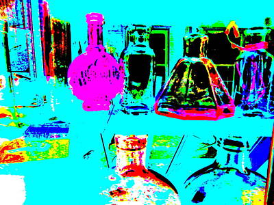 Photograph - Bottles 25 by George Ramos