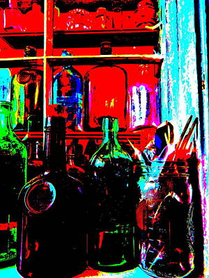 Photograph - Bottles 29 by George Ramos