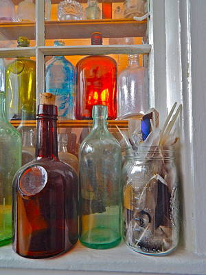 Photograph - Bottles 30 by George Ramos