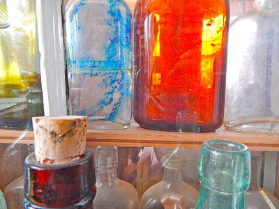 Photograph - Bottles 31 by George Ramos