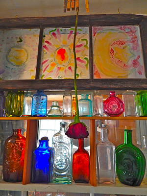 Photograph - Bottles 4 by George Ramos