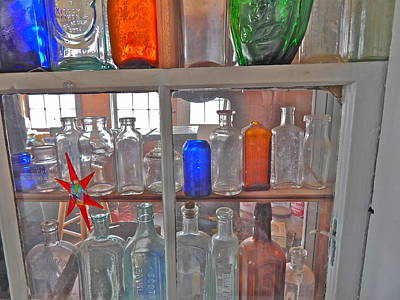 Photograph - Bottles 5 by George Ramos