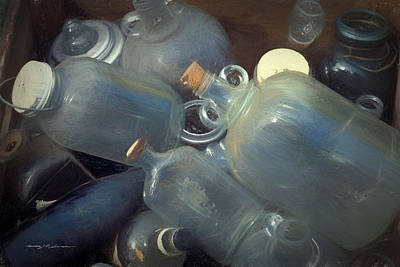 Photograph - Bottles by George Robinson