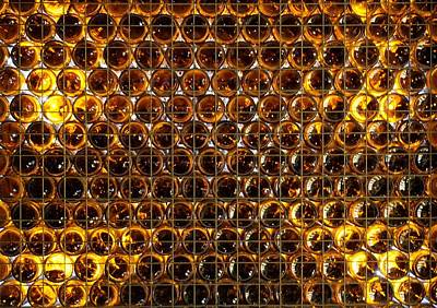 Bottles Of Beer On The Wall Art Print