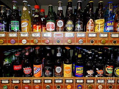Photograph - Bottles Of Pop by Ed Weidman