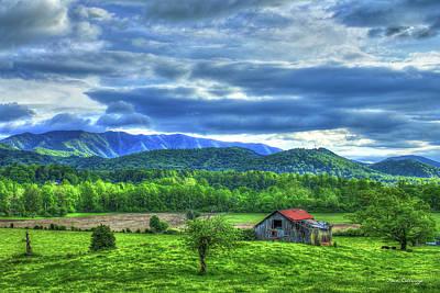 Photograph - Bottom Land Great Smoky Mountains Art by Reid Callaway