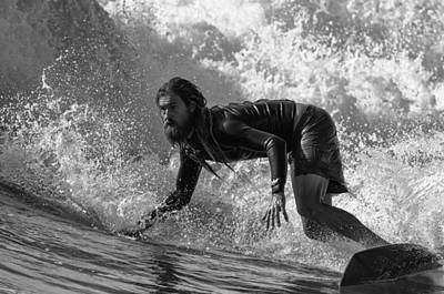 Surfing Photograph - Bottom by Michele Chiroli