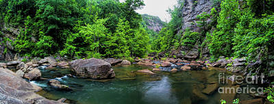 Photograph - Bottom Of Tallulah Gorge by Barbara Bowen
