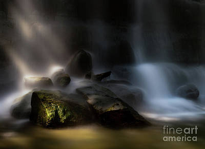 Photograph - Bottom Of The Falls by Jim Crawford
