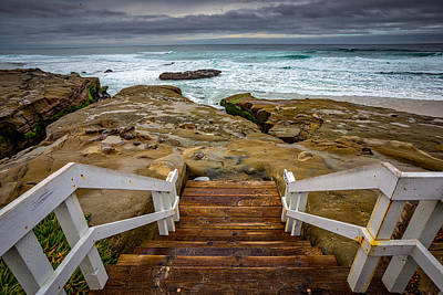 Surf Lifestyle Photograph - Bottom Of The Steps by Peter Tellone