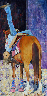 Bottoms Up Original by Patricia Pasbrig