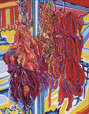 Painting - Boucherie Hamdane Freres I by Robert SORENSEN