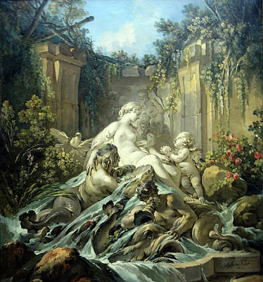 Photograph - Boucher's Fountain Of Venus by Cora Wandel