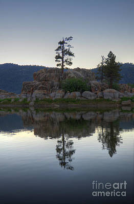 Art Print featuring the photograph Boulder Bay Reflections  by Kelly Wade