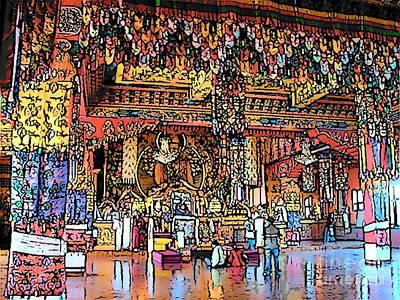 Photograph - Boudhanath Temple by Lisa Dunn