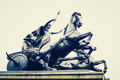 Boudicca Photograph - Boudicca Statue At Westminster by Paul Bucknall