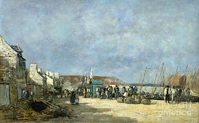 Photograph - Boudin: Camaret, 1873 by Granger