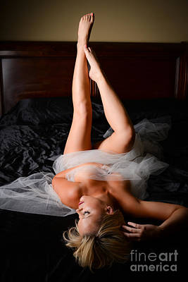 Provocative Photograph - Boudoir Legs by Jt PhotoDesign