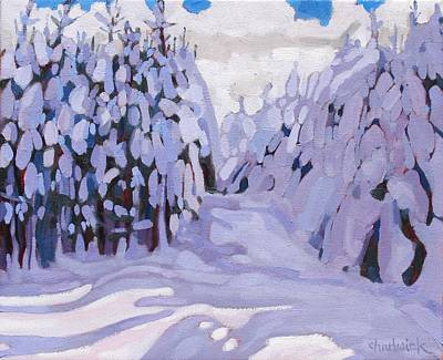 Tom Thomson Painting - Boughs Before The Wind by Phil Chadwick