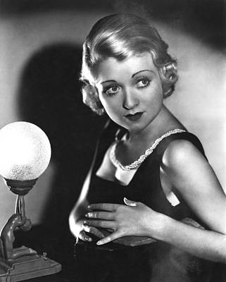 1930s Hairstyles Photograph - Bought, Constance Bennett, 1931 by Everett