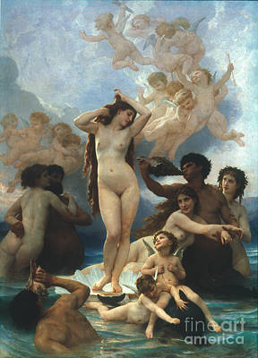 Aodcc Painting - Bouguereau: Birth Of Venus by Granger