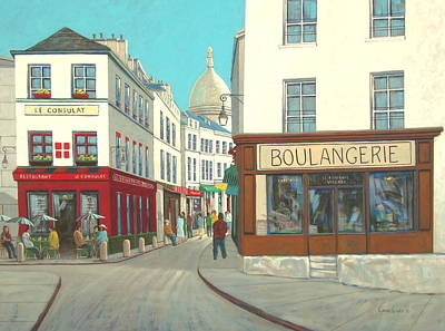 Painting - Boulangerie by Chris MacClure