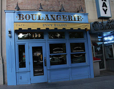 Photograph - Boulangerie by Ely Arsha