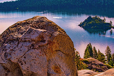 Photograph - Boulder And Bay by Steven Ainsworth