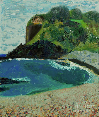 Art Print featuring the painting Boulder Beach by Paul McKey