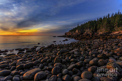 Boulder Beach Sunrise Art Print by Jerry Fornarotto