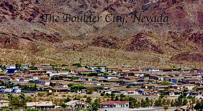 Photograph - Boulder City by Lorna Maza