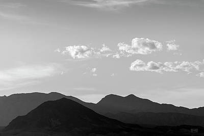 Photograph - Boulder City Nv Landscape I Bw by David Gordon