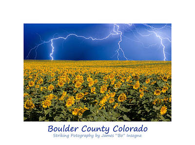 Photograph - Boulder  County Colorado by James BO  Insogna
