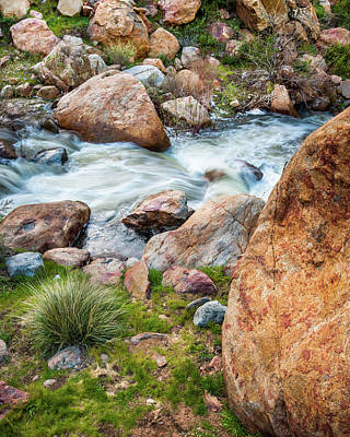 Photograph - Boulder Creek by Alexander Kunz