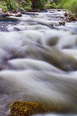 Photograph - Boulder Creek by James BO  Insogna