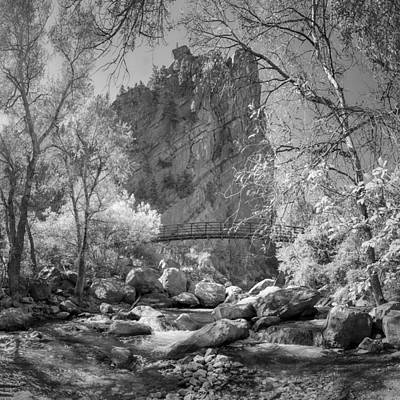 Photograph - Boulder Creek South by Lynn Palmer