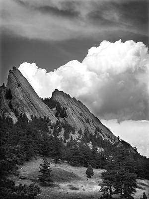 Photograph - Boulder Flatirons 2 by Marilyn Hunt