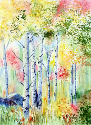 Painting - Boulder Grove by Marsha Karle